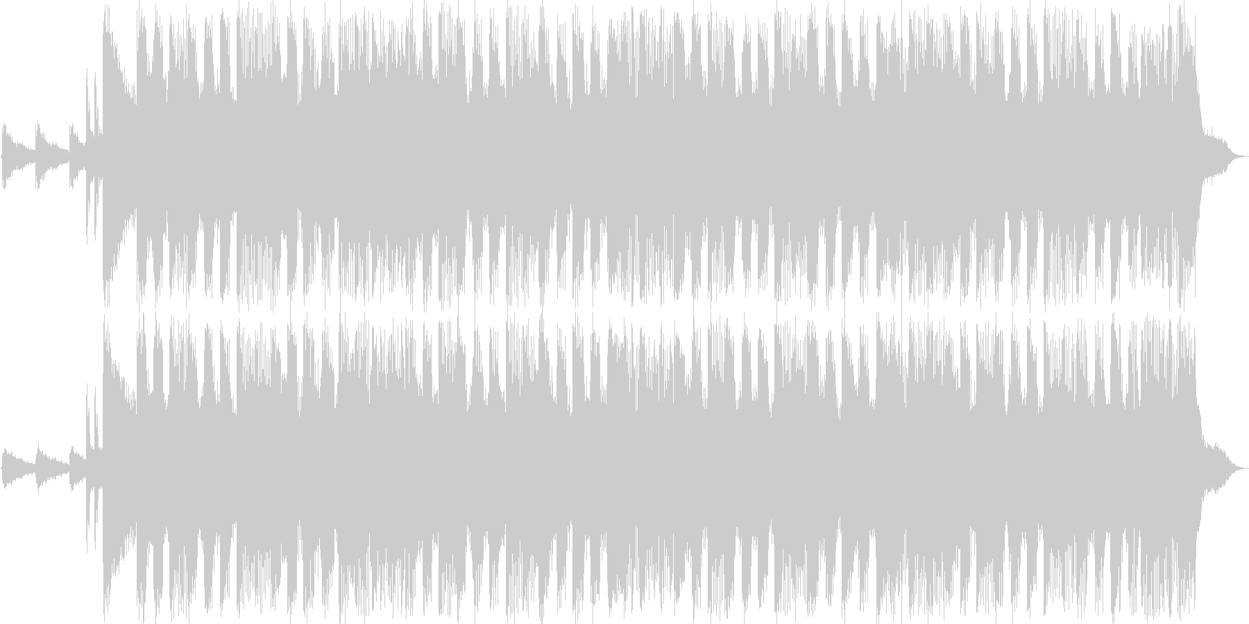 Rock sound 15sの未再生の波形