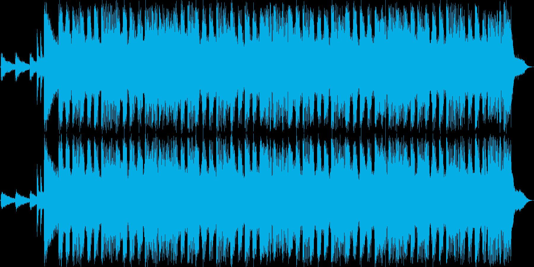 Rock sound 15sの再生済みの波形