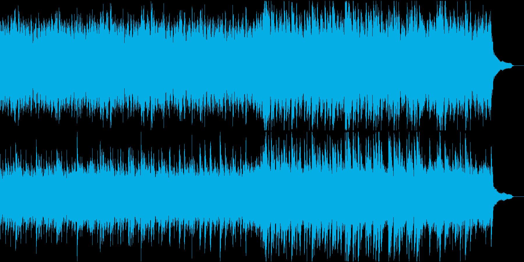 静かで優しい和風オケ⑤高音弦なしの再生済みの波形