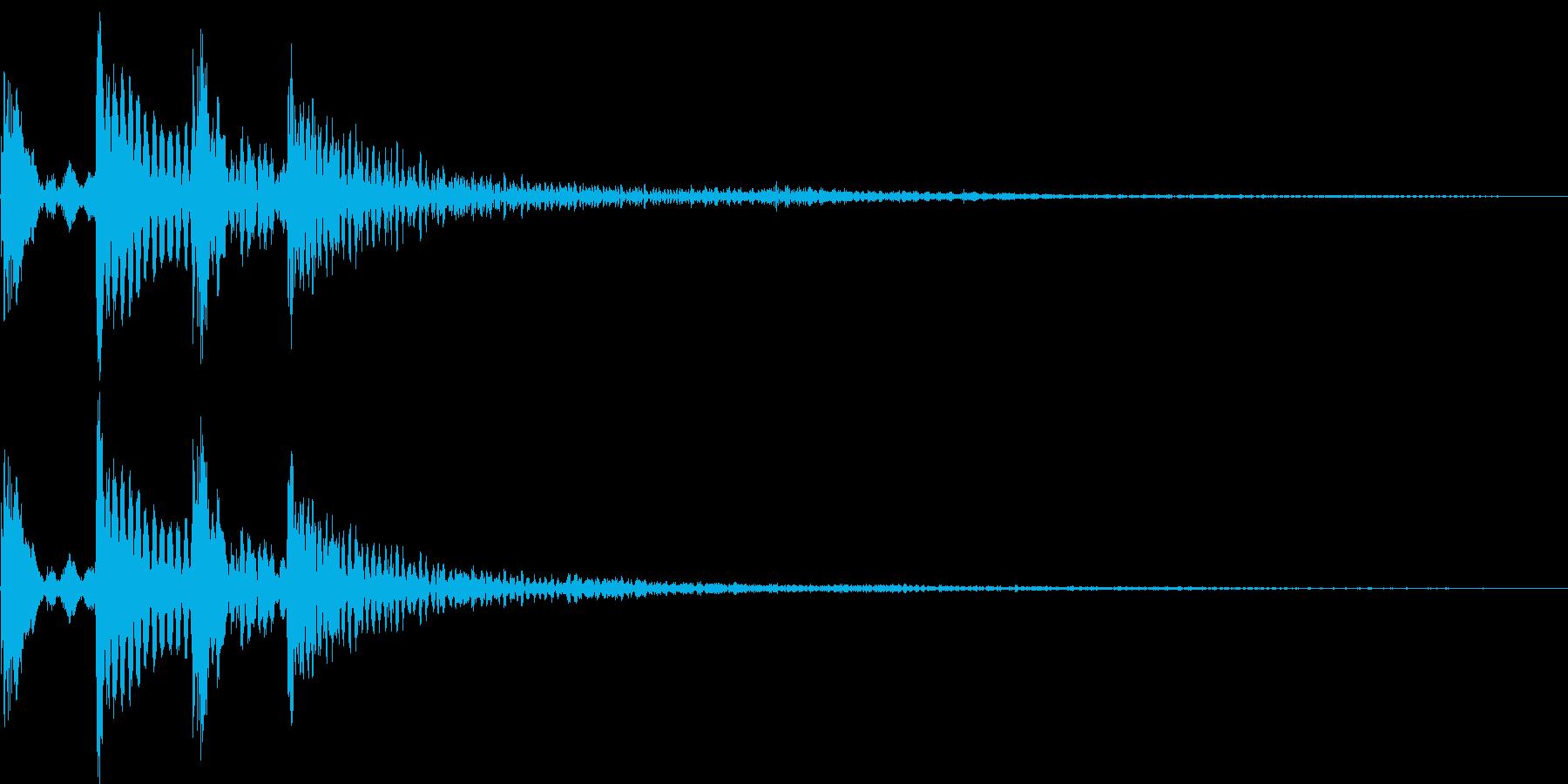 ポコポコン(決定、正解、アイテム)の再生済みの波形