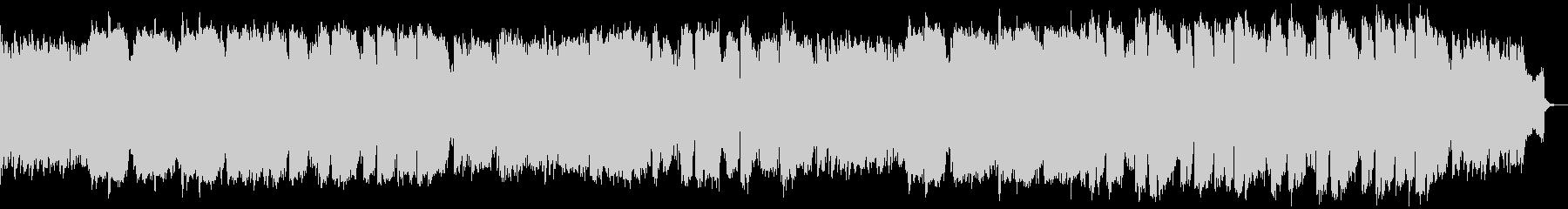 ピアノ管楽器による明るめの演歌風Popsの未再生の波形