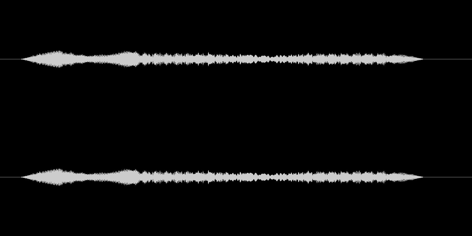 鈴虫の鳴き声をSynthで作成しました…の未再生の波形