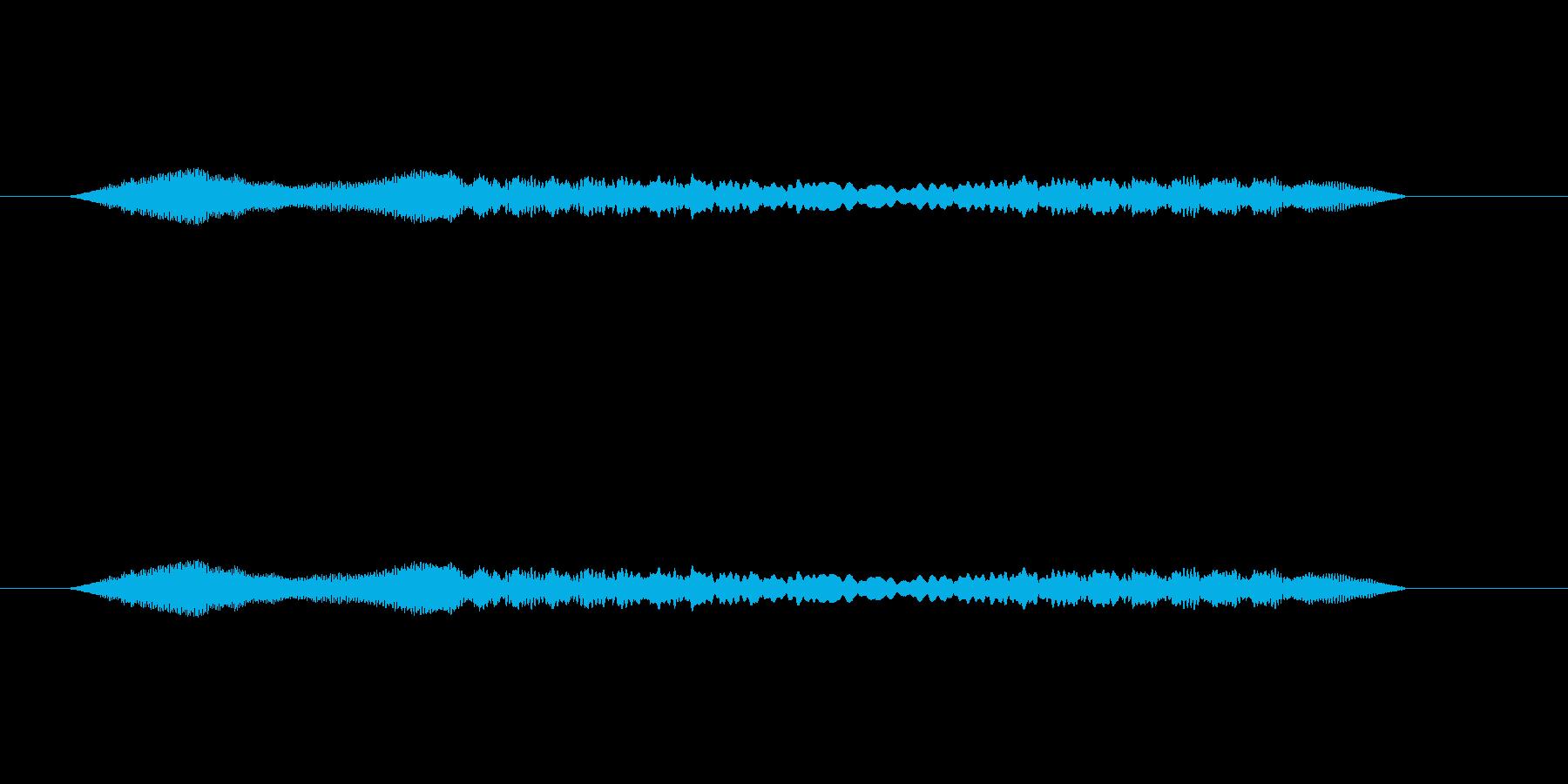 鈴虫の鳴き声をSynthで作成しました…の再生済みの波形