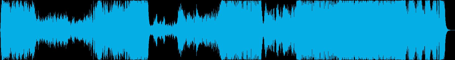 壮大でカッコイイOPオーケストラの再生済みの波形