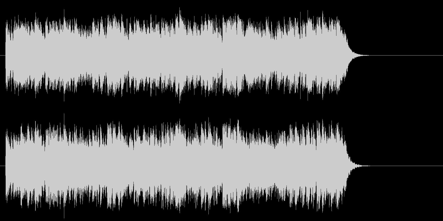 優しいポップフュージョン(サビ~エンド)の未再生の波形