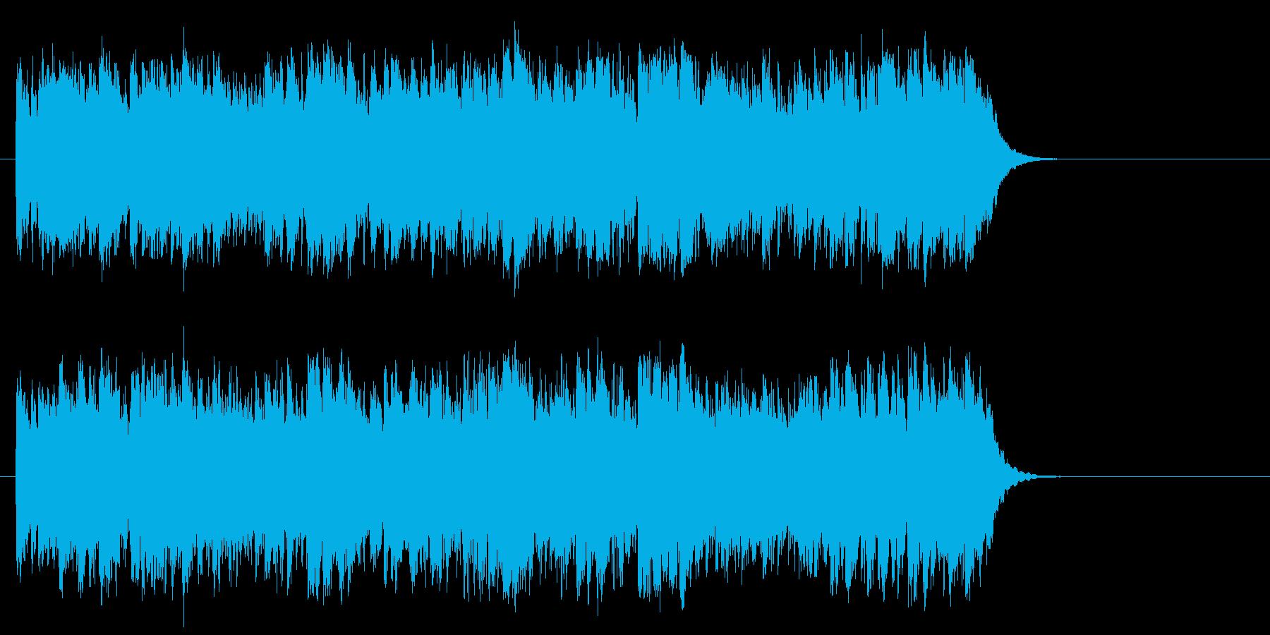 優しいポップフュージョン(サビ~エンド)の再生済みの波形
