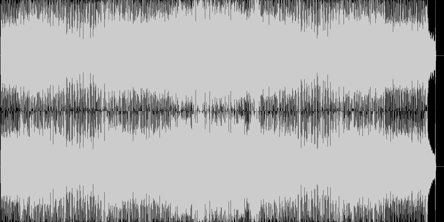 爽やかでいきいきとしたポップロックの未再生の波形