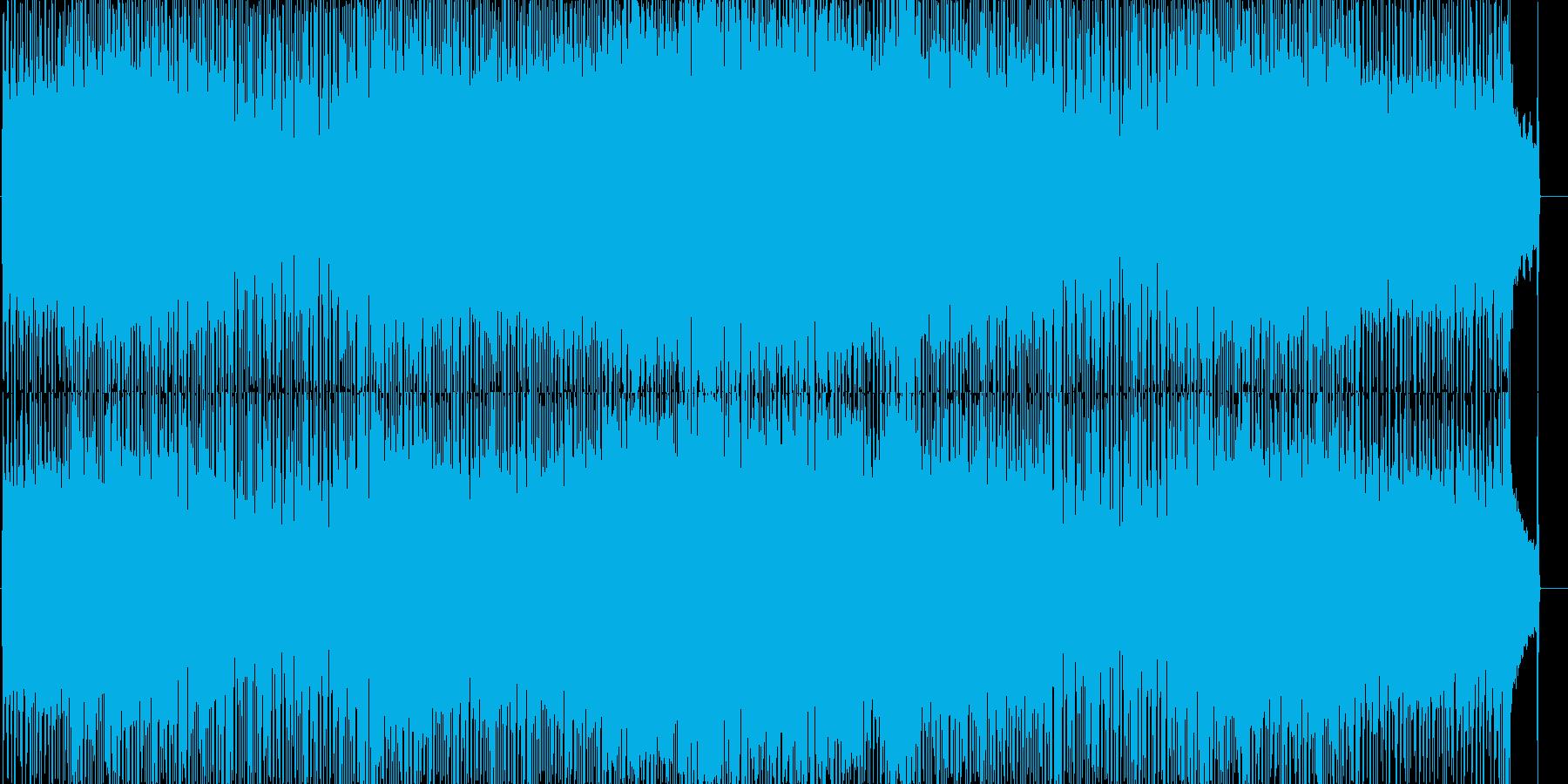 爽やかでいきいきとしたポップロックの再生済みの波形