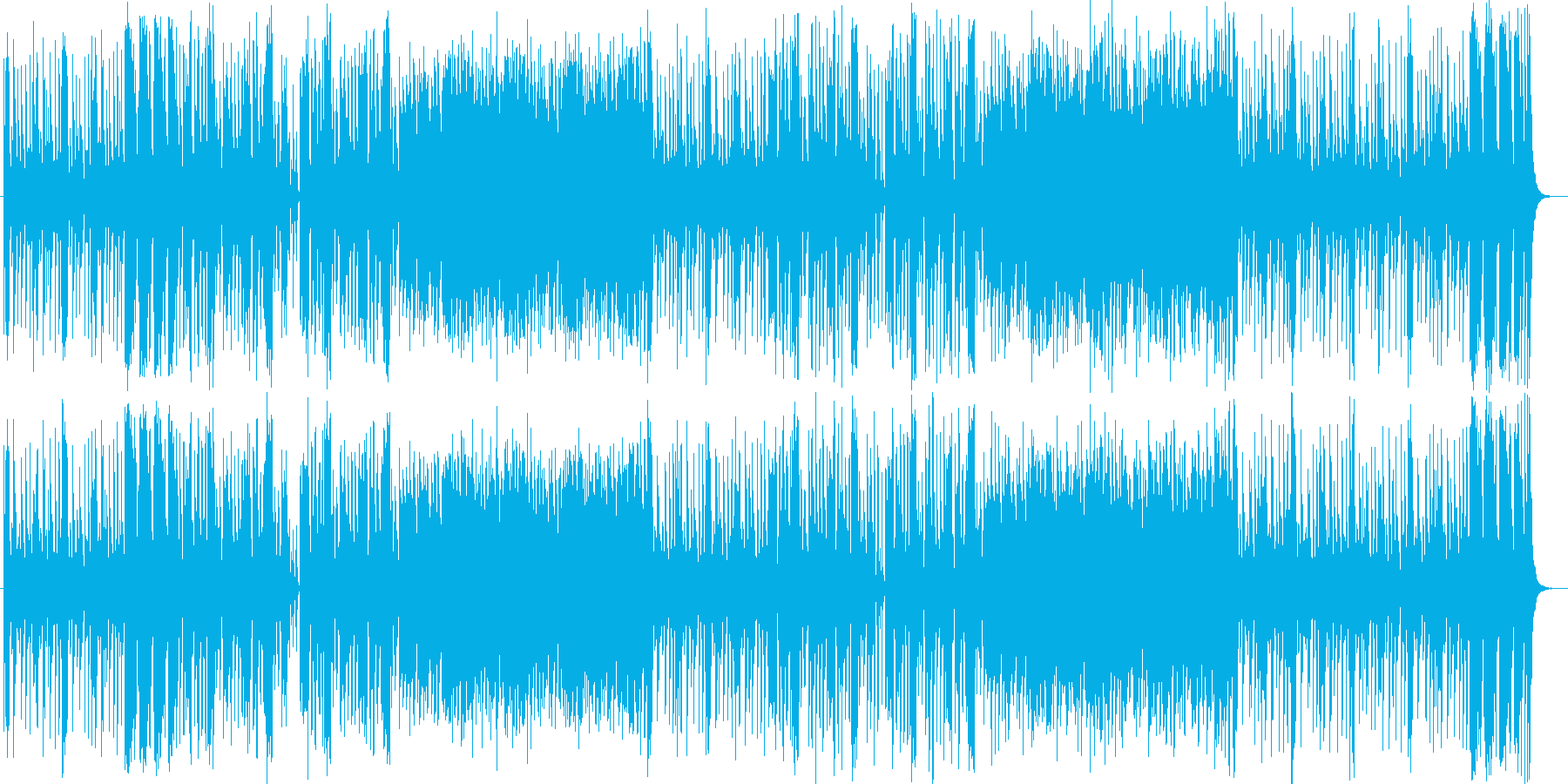 軽快なリズムが特徴のシティポップスの再生済みの波形