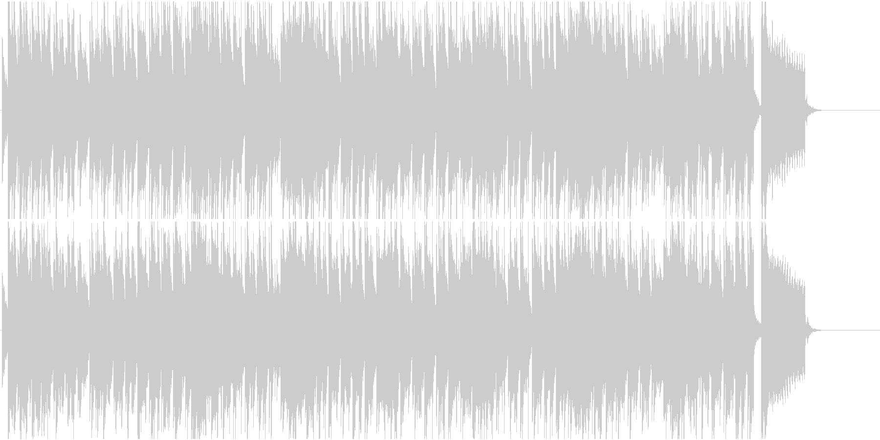 休日 南国 リゾート ほのぼの 懐かしいの未再生の波形