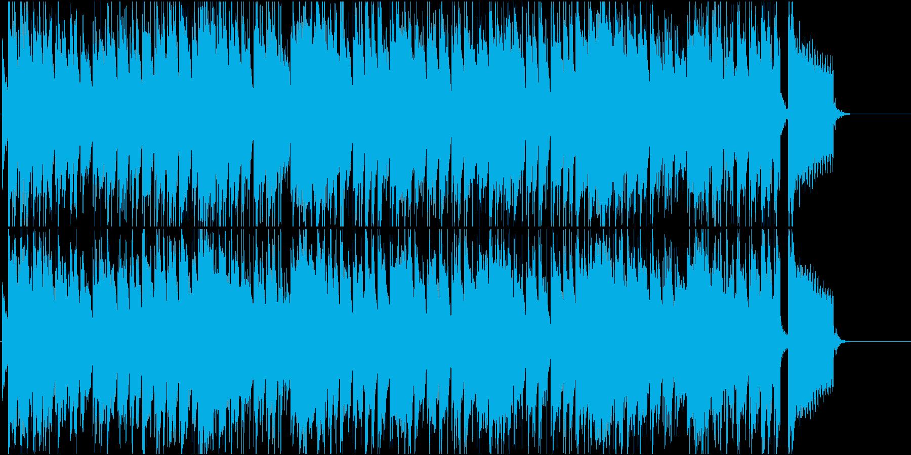 休日 南国 リゾート ほのぼの 懐かしいの再生済みの波形