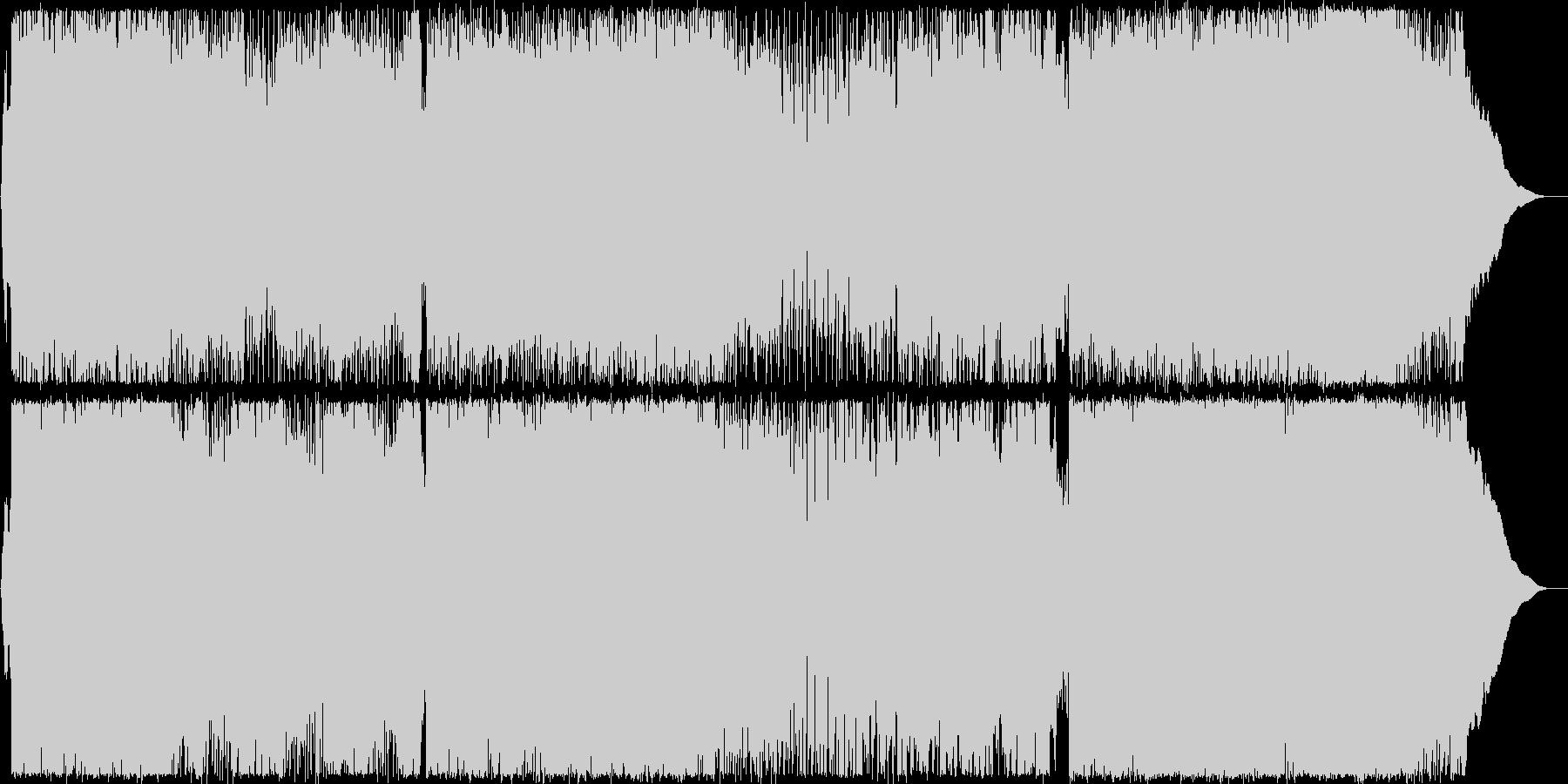 疾走感溢れるキャッチーなポップサウンドの未再生の波形