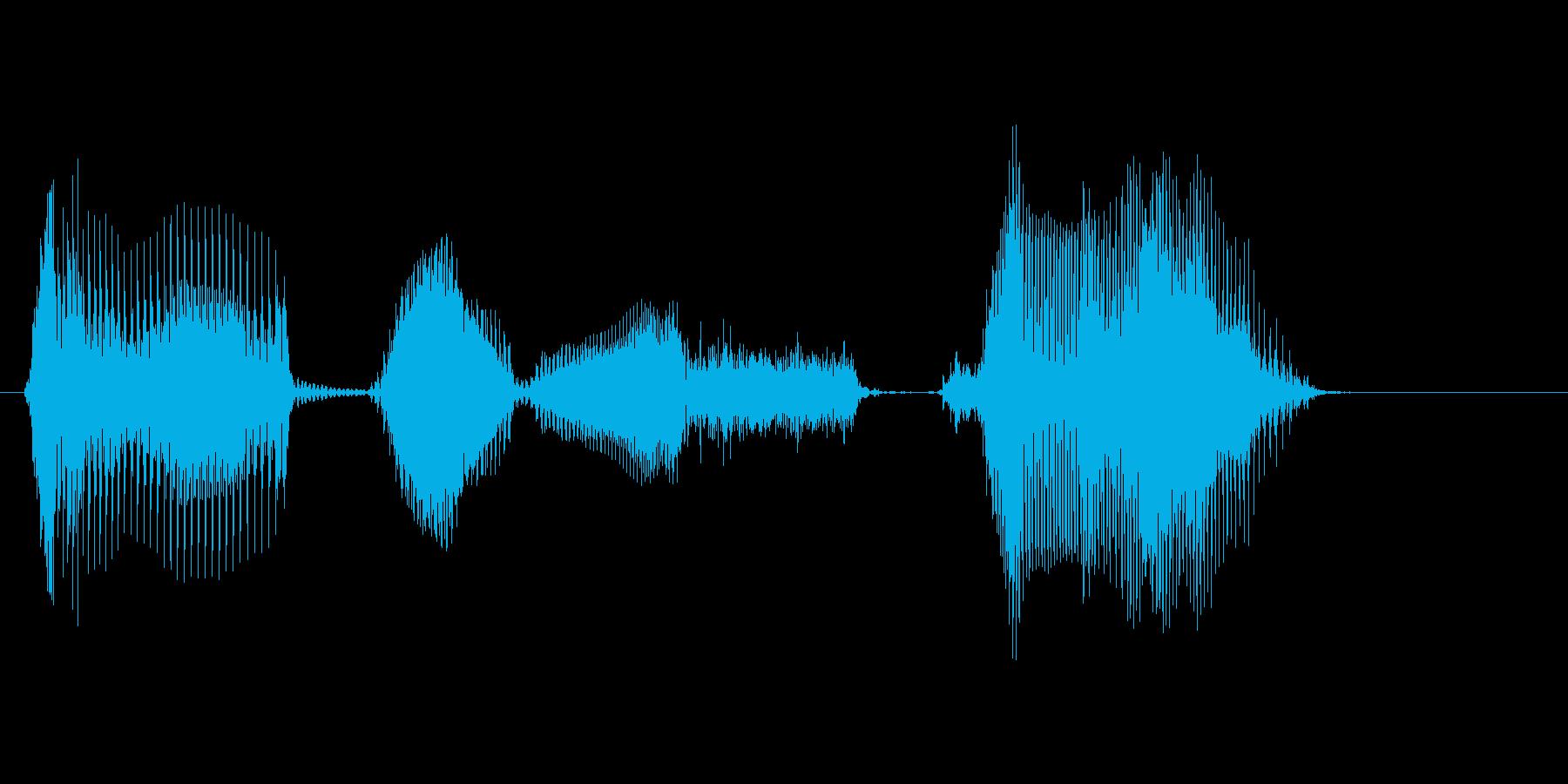 ダブルスコア!の再生済みの波形