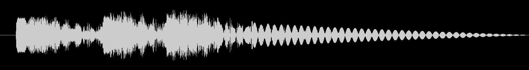 ドドドン 射撃音 ゲームなどの未再生の波形
