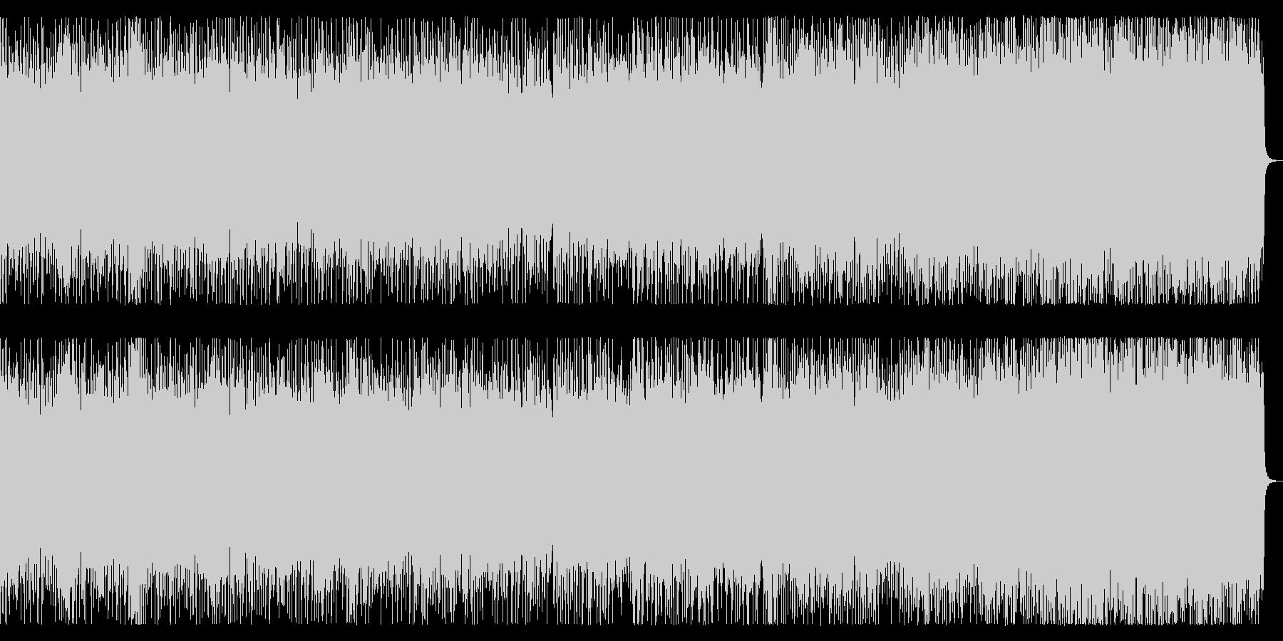 スピードメタル戦闘曲 リフバッキング主体の未再生の波形