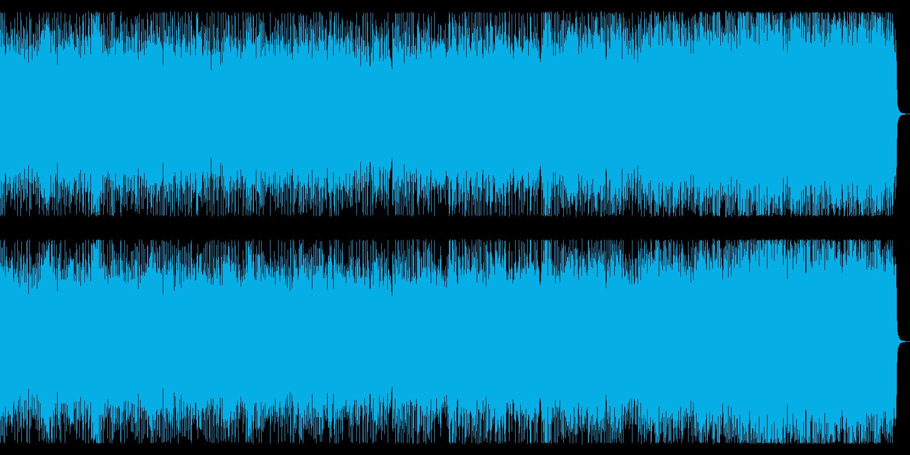 スピードメタル戦闘曲 リフバッキング主体の再生済みの波形