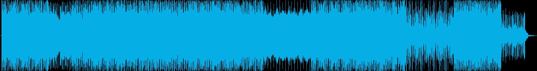 近未来なエレクトロニカ風ミュージックで…の再生済みの波形