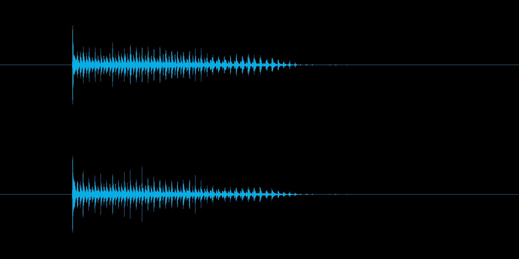 カーーー!の再生済みの波形
