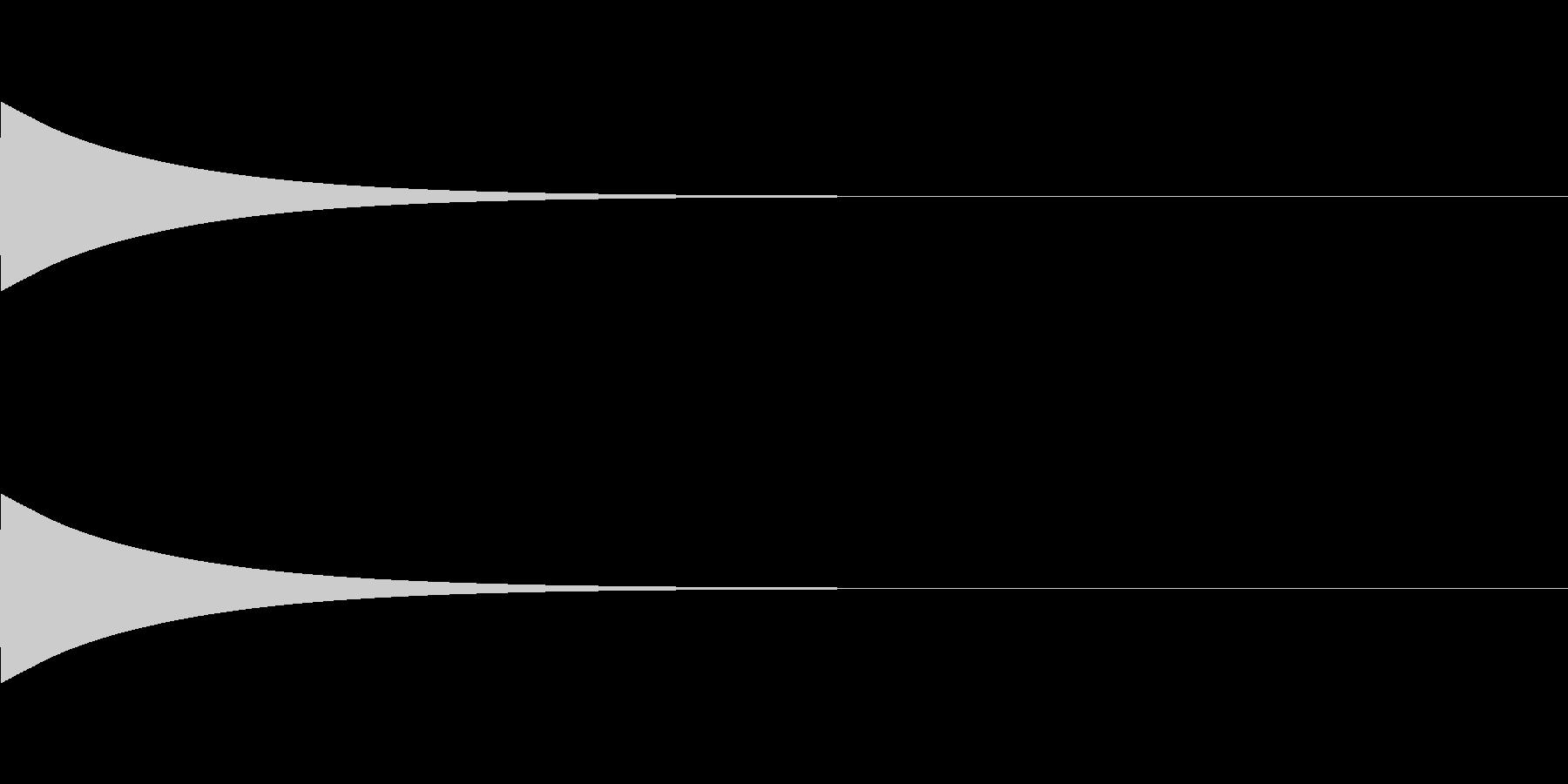 ベル/ポン/システム/金属/1の未再生の波形