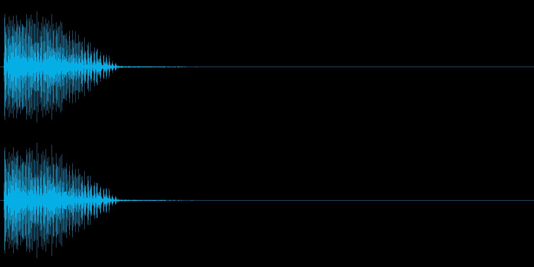 ビブラスラップ (カーッ)の再生済みの波形