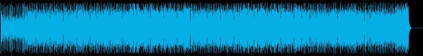 心浮き立つ軽快なポップスの再生済みの波形
