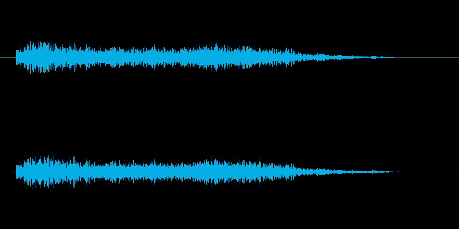 【モンスター01-6】の再生済みの波形