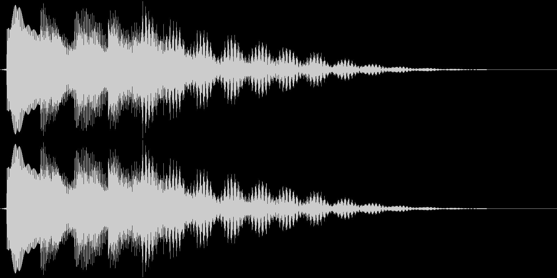 ピロリロリーン(ベル)の未再生の波形