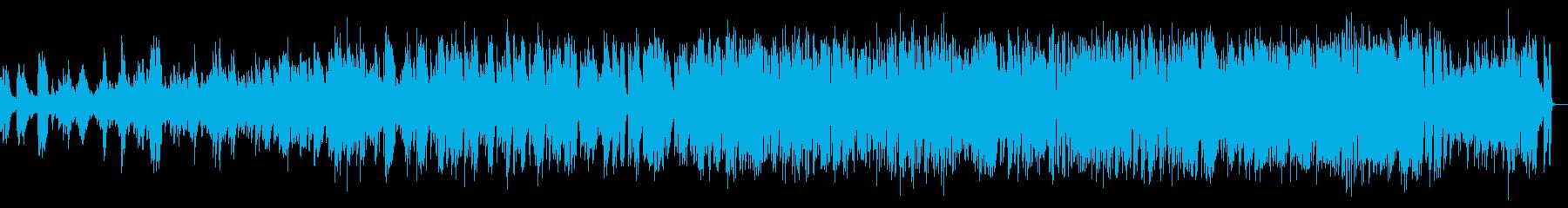 雰囲気の再生済みの波形