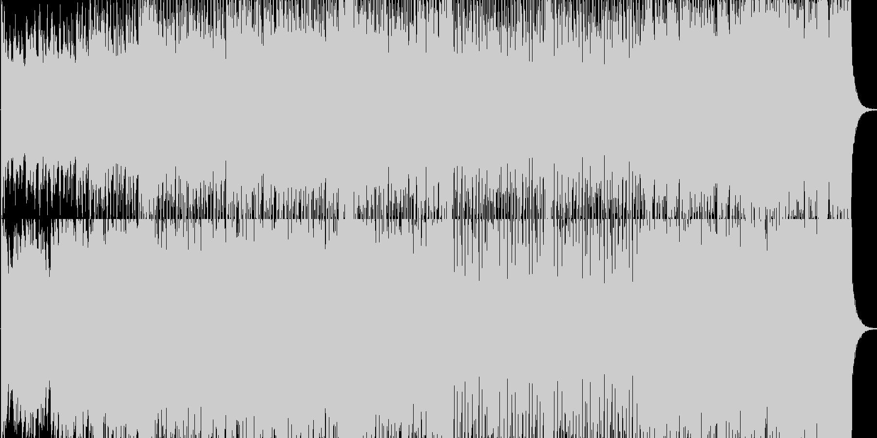シンセが印象的な疾走感溢れるサウンドですの未再生の波形
