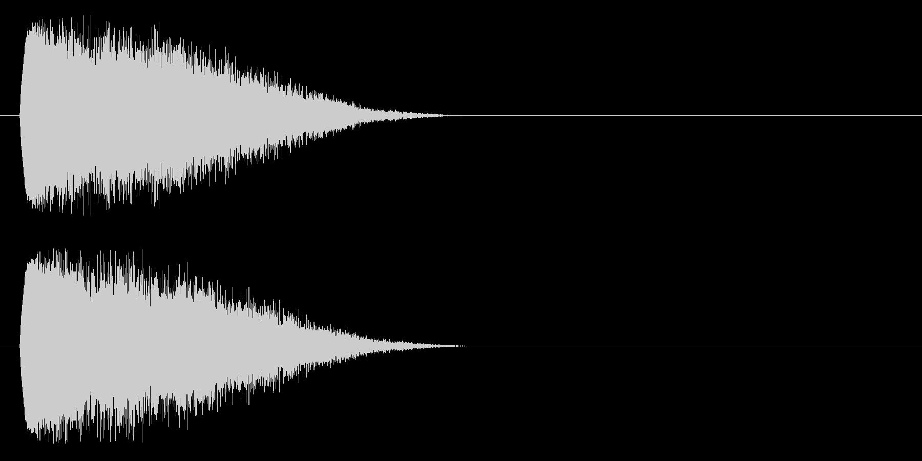 ピシュの未再生の波形