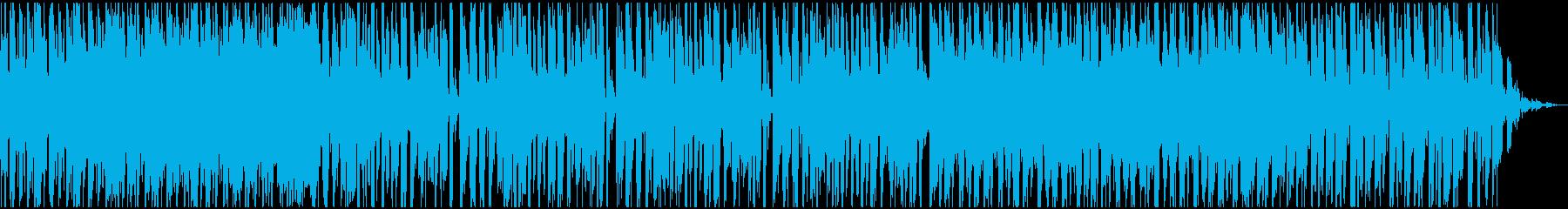 disco houseの再生済みの波形