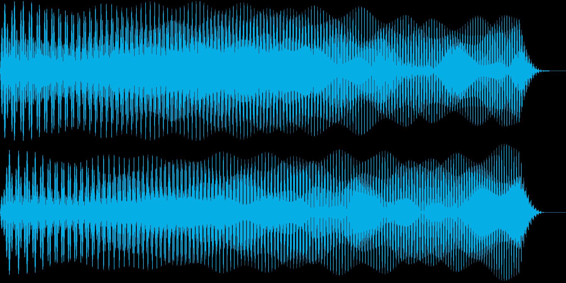ワープしそうな音02の再生済みの波形