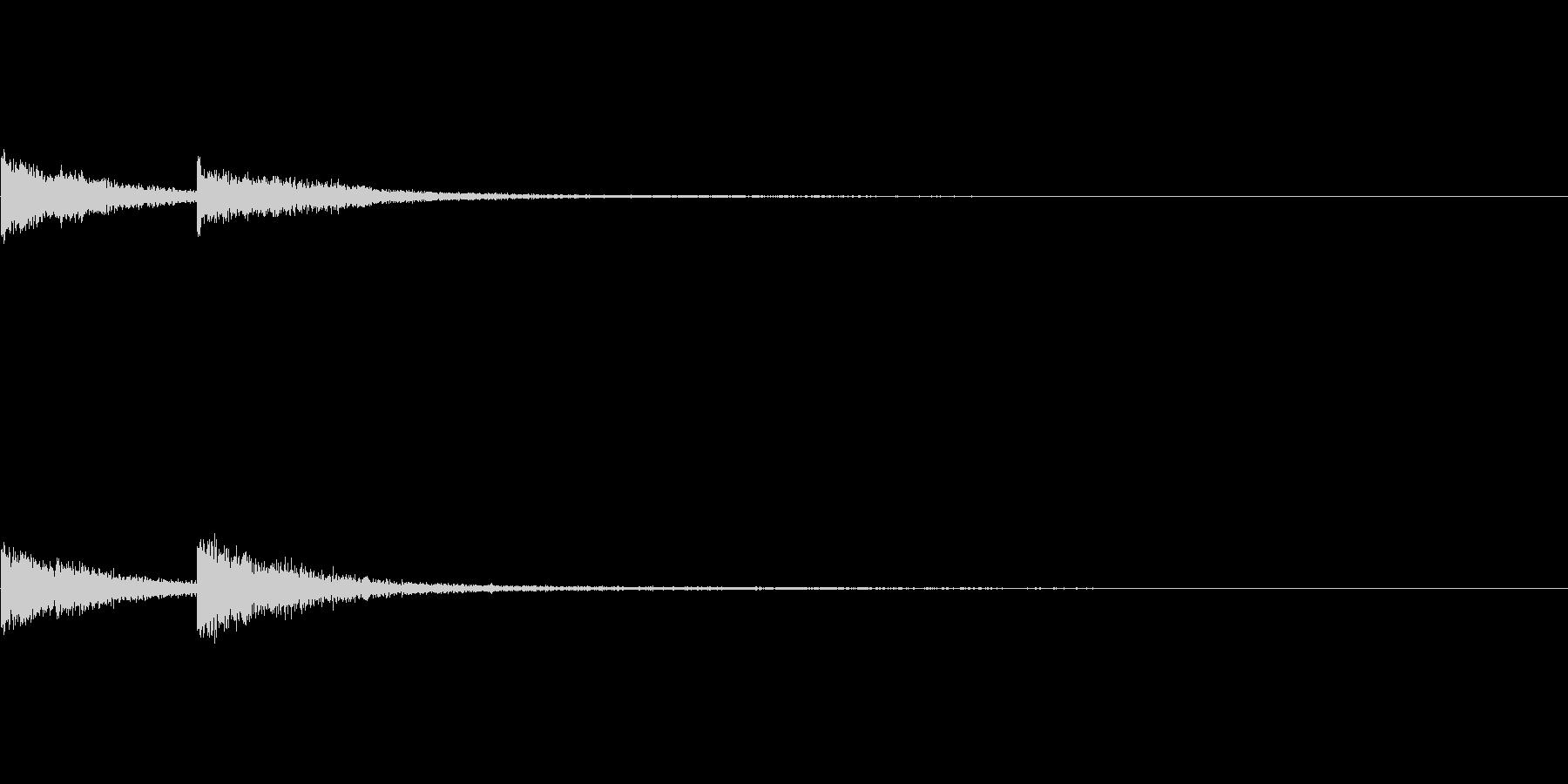 かんかーん(採掘、加工、鍛冶屋)の未再生の波形