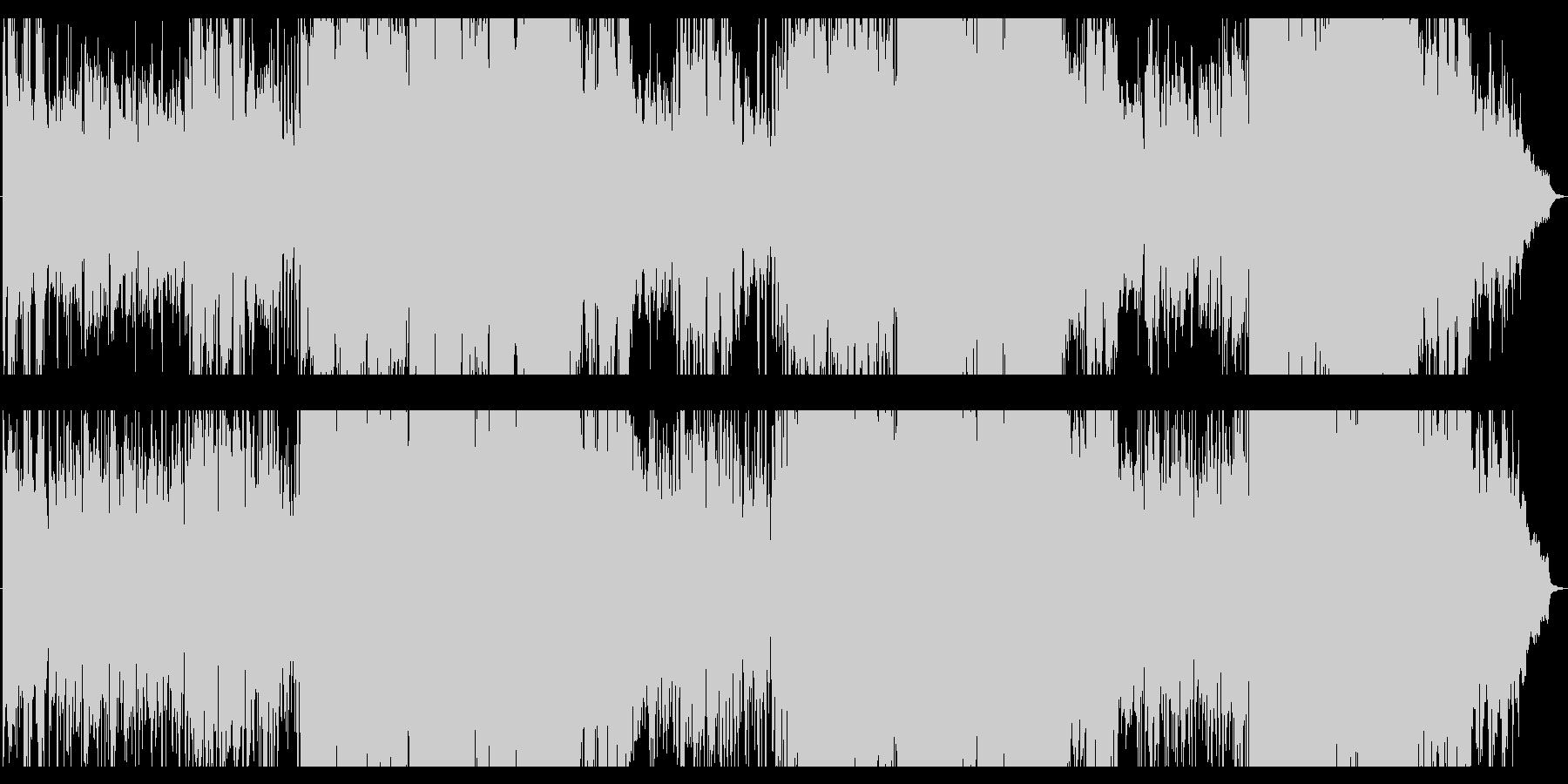 スローライフがテーマの爽やかソフトロックの未再生の波形