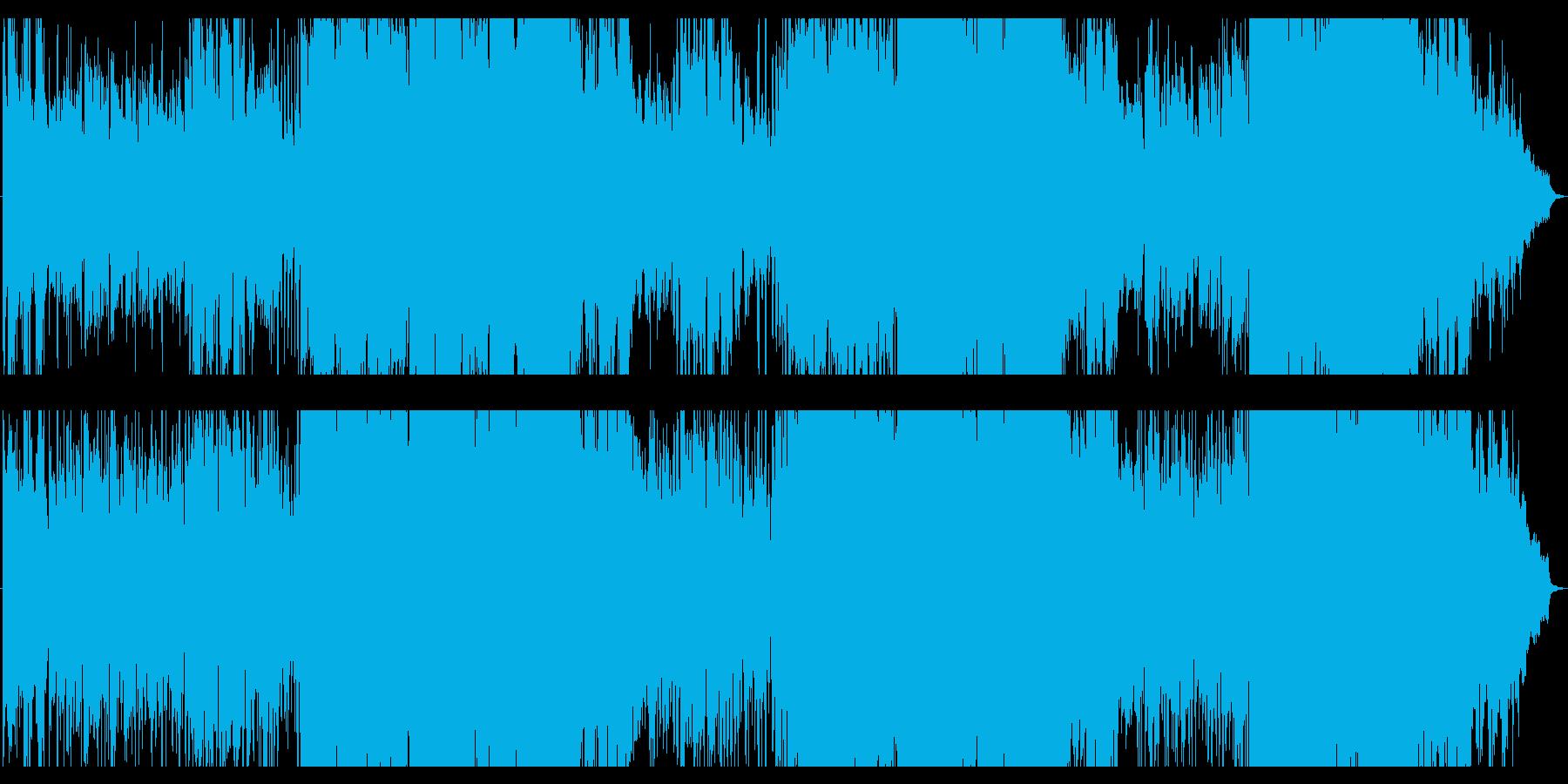 スローライフがテーマの爽やかソフトロックの再生済みの波形