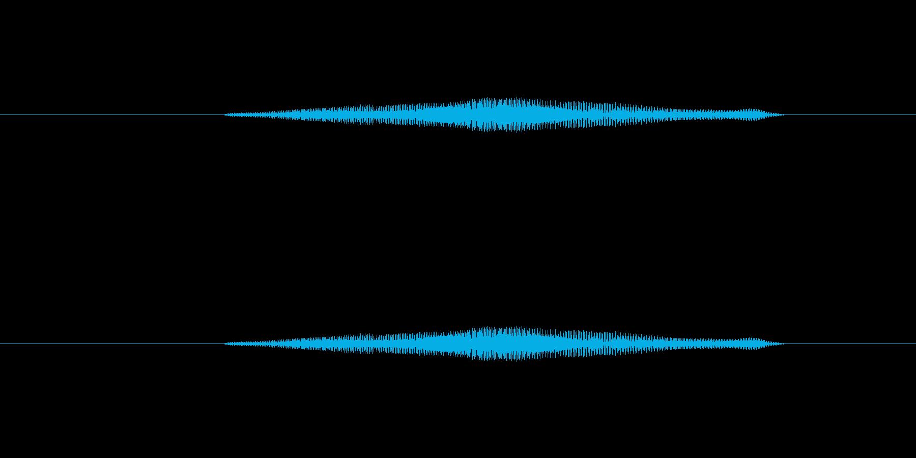 ニャー_猫声-01の再生済みの波形