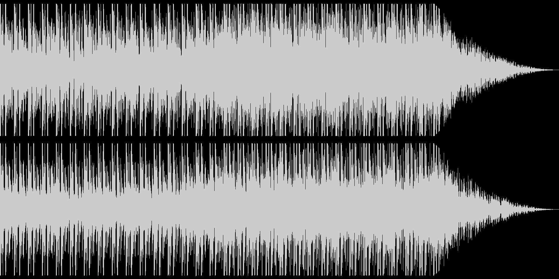 推理/ミステリー向けのアンビエント曲の未再生の波形