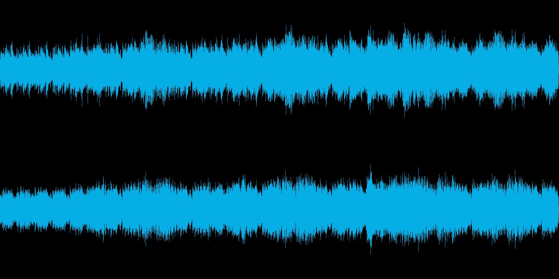 のんびり爽やかな天気予報のBGMの再生済みの波形