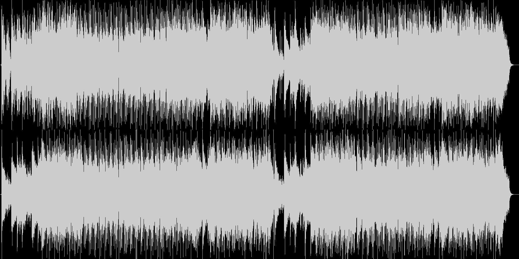 暖かく優しいピアノ・シンセなどのサウンドの未再生の波形