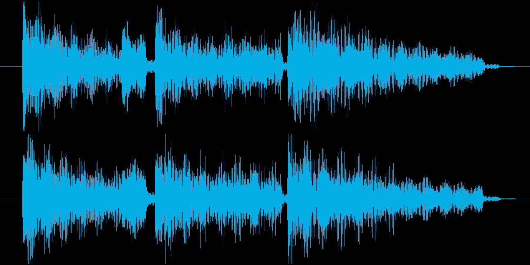 エレピ音源の再生済みの波形