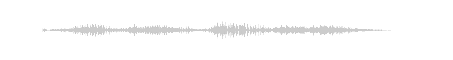 【時報・時間】9時ですの未再生の波形
