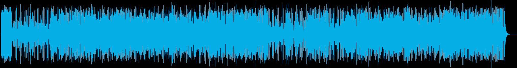 アゴゴが軽やかに鳴り響くサンバの再生済みの波形