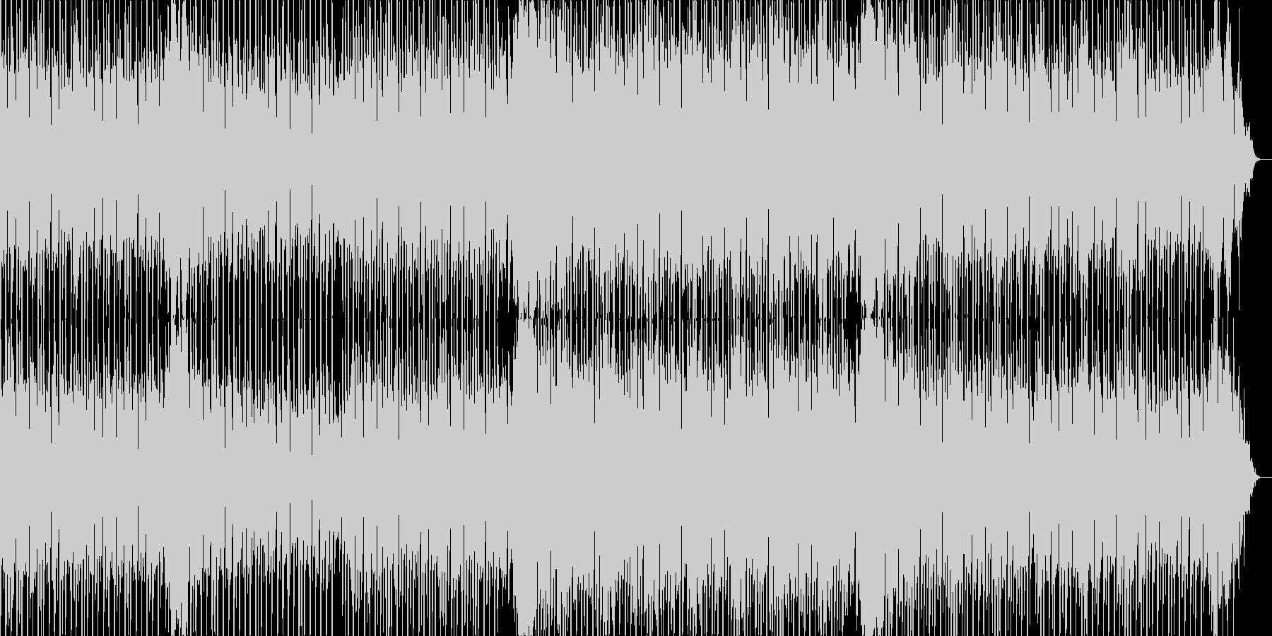 明るくリズミカルなテクノポップサウンドの未再生の波形