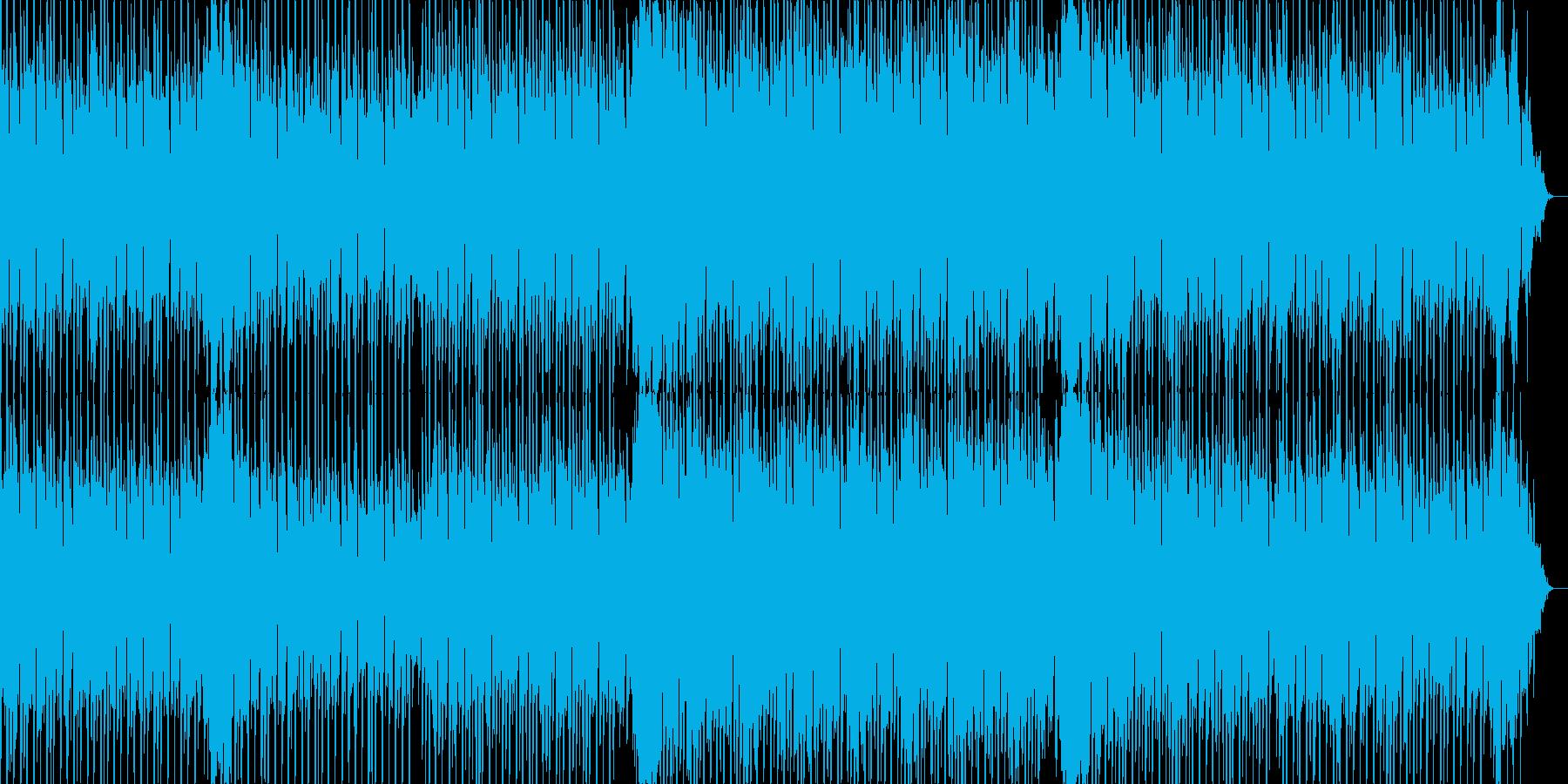 明るくリズミカルなテクノポップサウンドの再生済みの波形