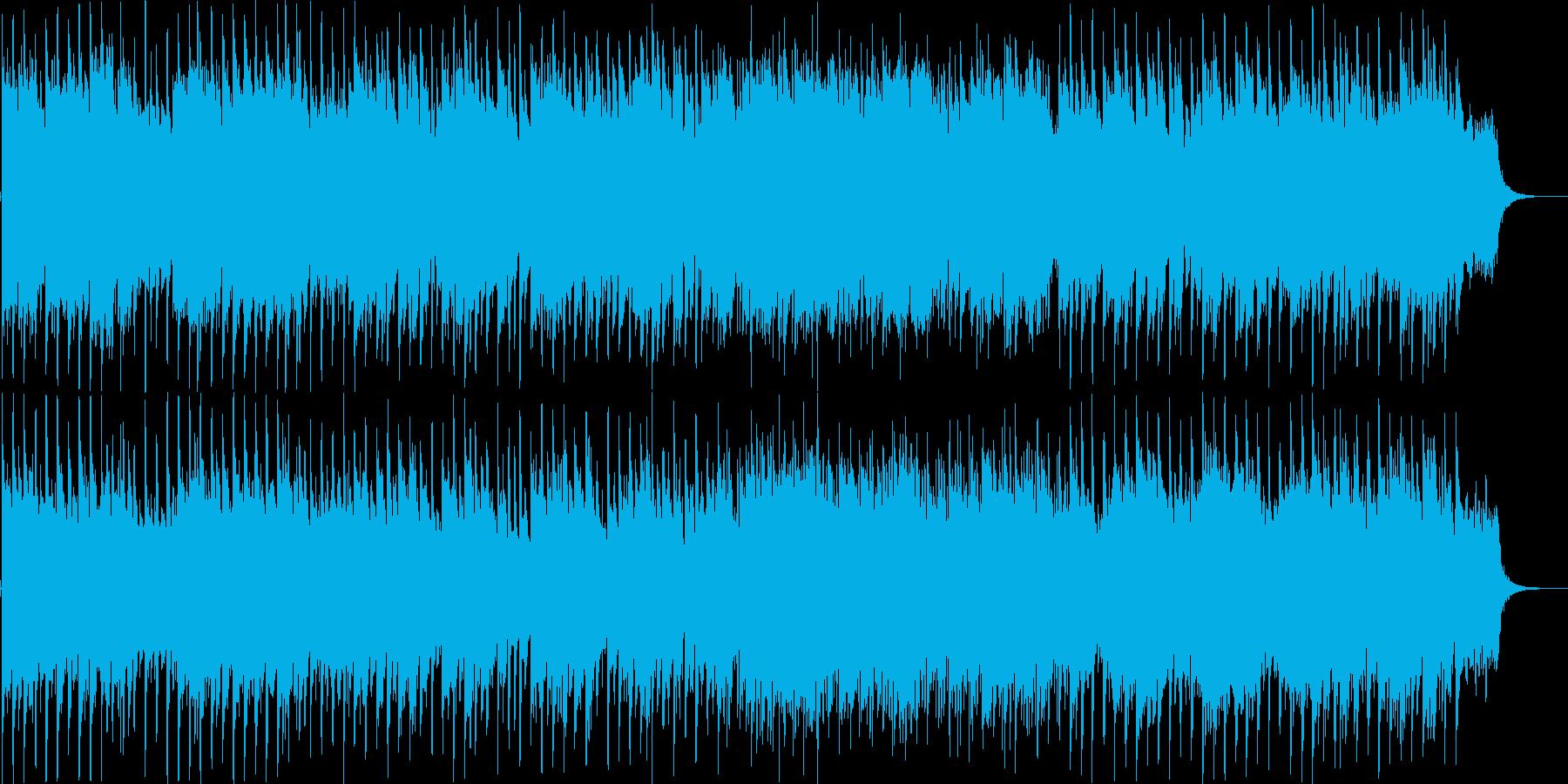 哀愁のドラマチックバラードの再生済みの波形