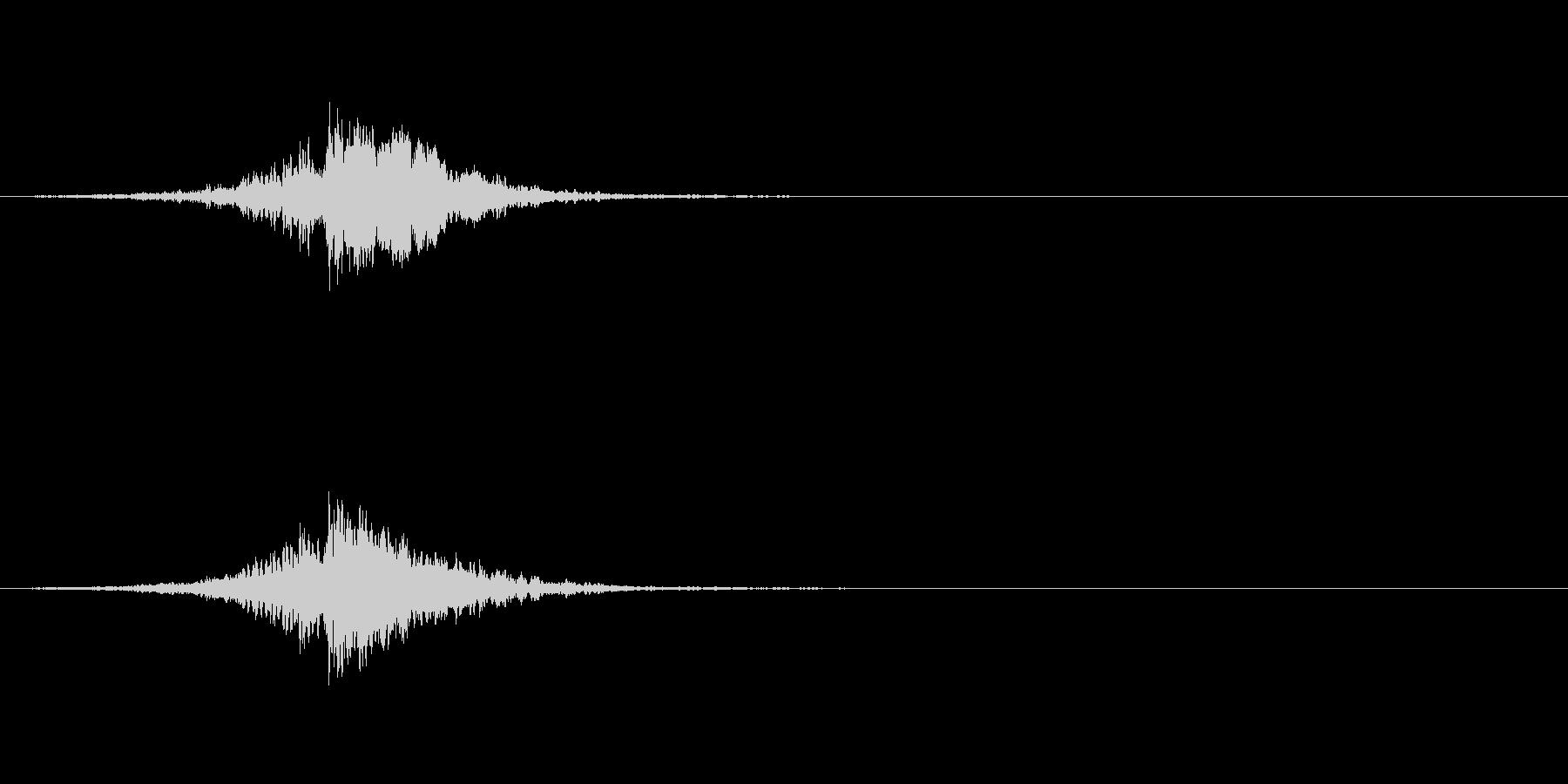 映画などの予告やサウンドロゴの未再生の波形