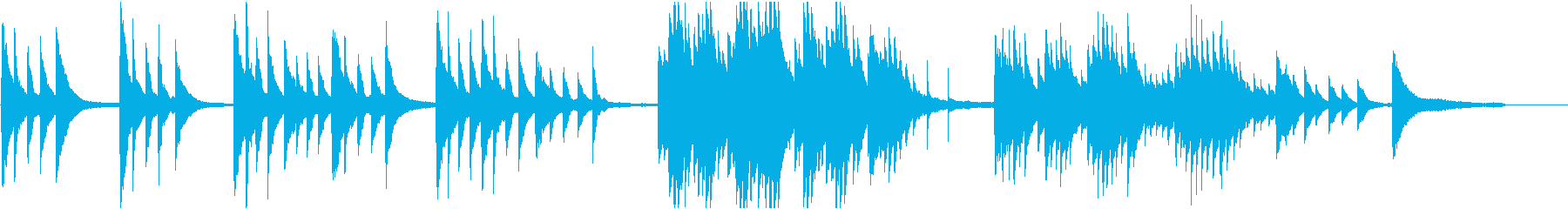 CMや映像に 純真で澄み切ったピアノソロの再生済みの波形