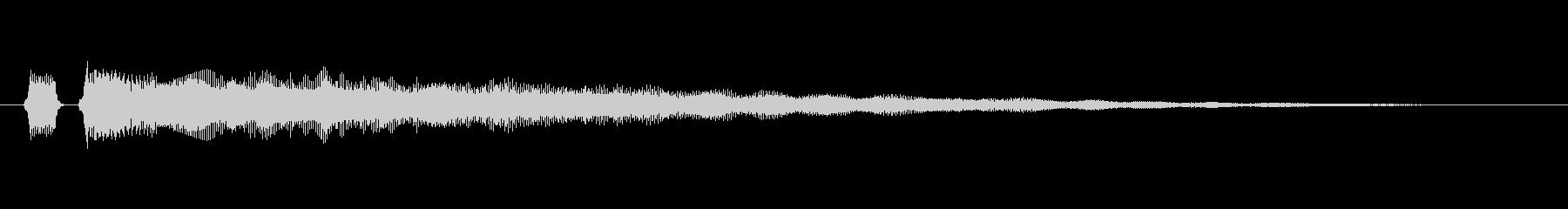 【フレーズ05-2】の未再生の波形