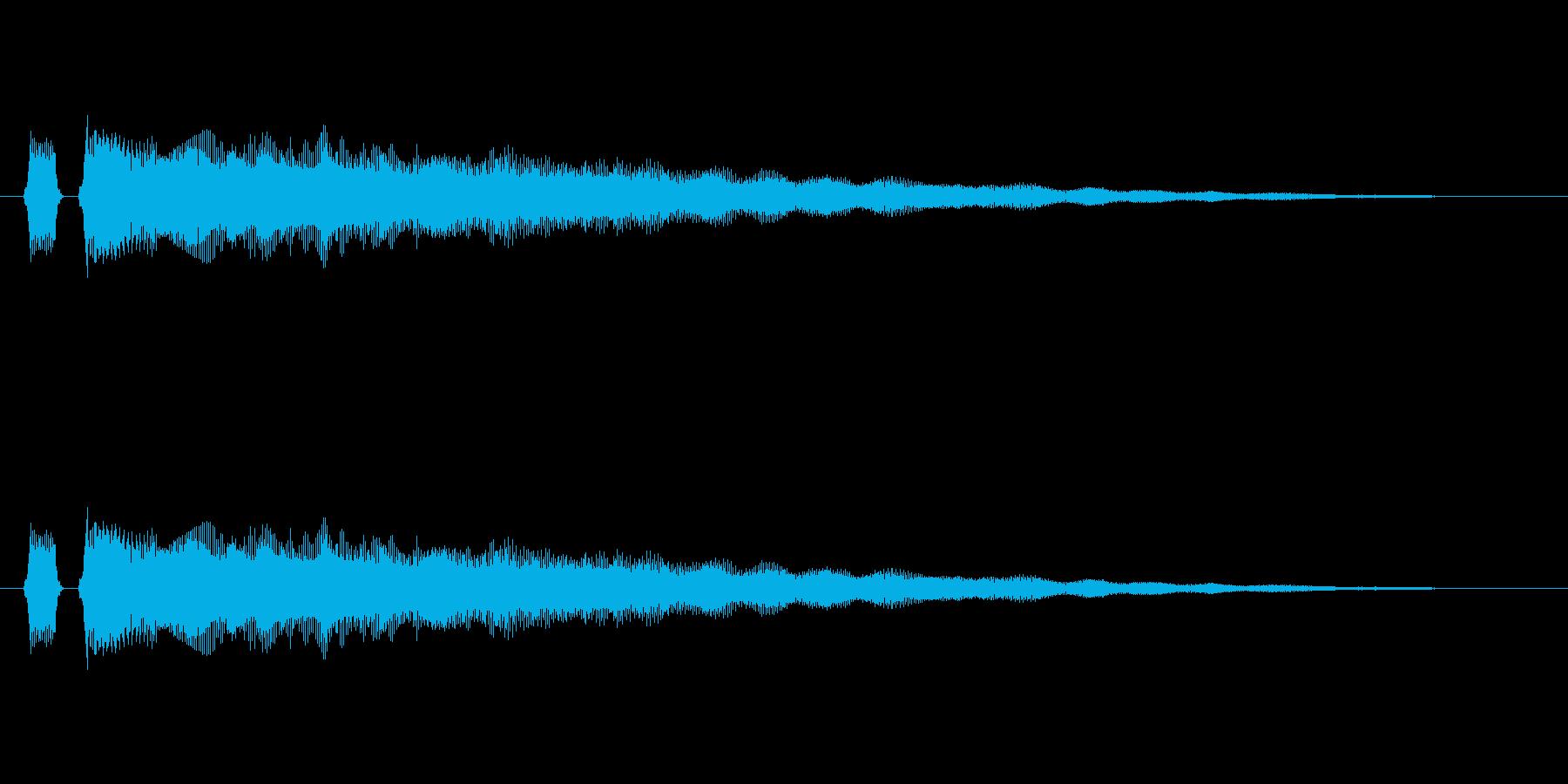 【フレーズ05-2】の再生済みの波形
