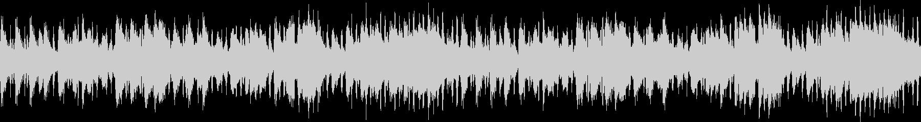 調律の狂ったピアノのワルツ・ホラーの未再生の波形